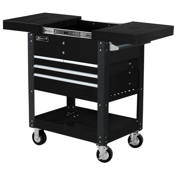 Slide Top Service Cart
