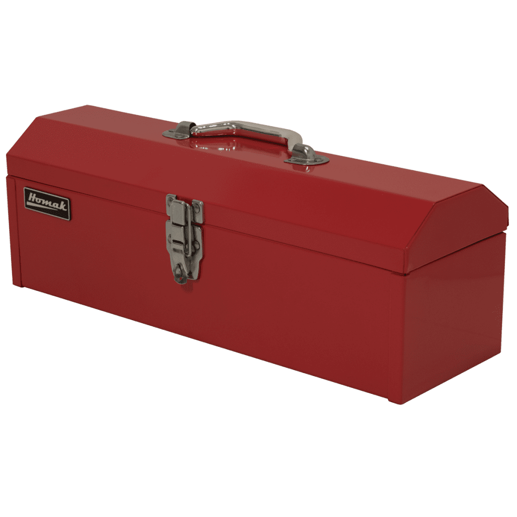 19 Quot Steel Hip Roof Hand Carry Toolbox Homak Manufacturing