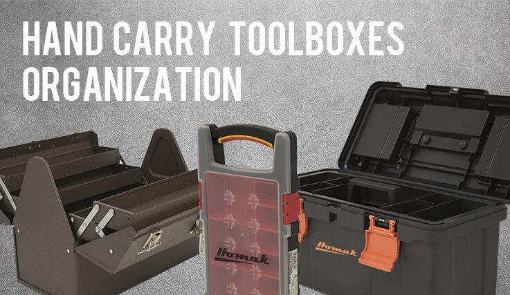 hand carry toolboxes