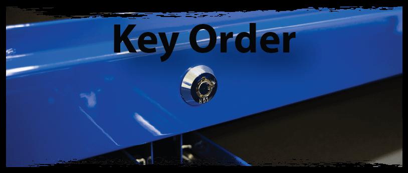 key order banner